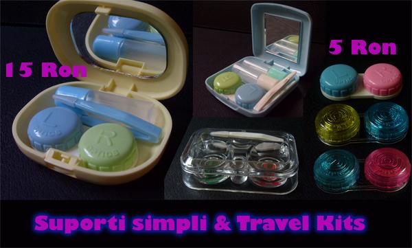 Suporti pentru lentile si travel kits